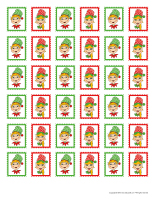 Elf memos and stamps-2