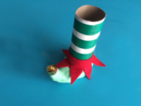 Elf themed candy jar-7
