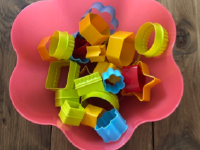 Exploring colorful clay cutters without clay-2