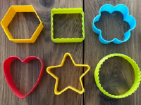 Exploring colorful clay cutters without clay-3