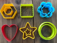 Exploring colorful clay cutters without clay-4