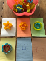 Exploring colorful clay cutters without clay-6