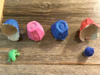 Fabriquer un jeu de memoire surprise avec des boites doeufs-3
