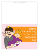 Father's Day cards-Color
