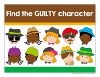 Find the guilty character-1