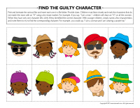 Find the guilty character-2