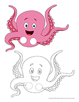 Finger puppets-Octopuses