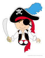 Finger puppets-Pirates