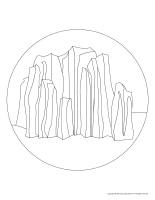 Floor-illustrations-Mountains