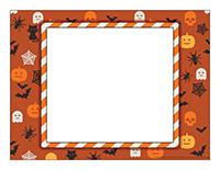 Frame-Halloween parade