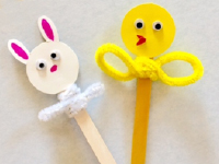 Fun And Easy Popsicle Stick Puppets-5