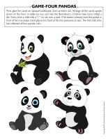Game Four pandas