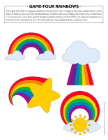 Game Four rainbows