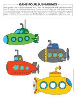 Game-Four-submarines