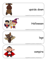 Giant word flashcards-Bats-3