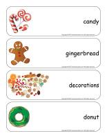 Giant word flashcards-Christmas Baking-3