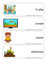 Giant word flashcards-Electronic games-2