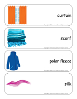 Giant word flashcards-Fabric-3