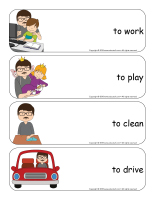 Giant word flashcards-Father's Day-2
