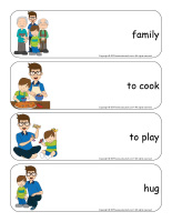 Giant word flashcards-Father's Day 2019-2