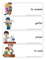 Giant word flashcards-Father's Day-3
