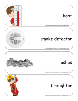 Giant word flashcards-Fire-2