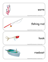 Giant word flashcards-Fishing-1