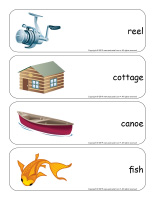 Giant word flashcards-Fishing-3