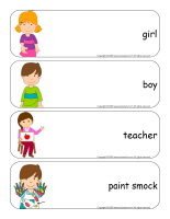 Giant word flashcards-Kindergarten-1