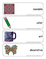 Giant word flashcards-Mandalas-1