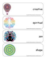 Giant word flashcards-Mandalas-3