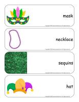 Giant word flashcards-Mardi Gras-1