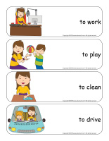 Giant word flashcards-Mother's Day-2