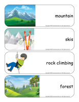 Giant word flashcards-Mountains-1