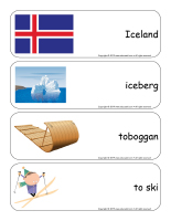 Giant word flashcards-Nordic countries-2