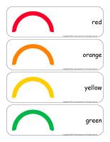 Giant word flashcards-Rainbows-1
