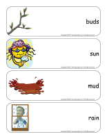 Giant word flashcards-Spring-1