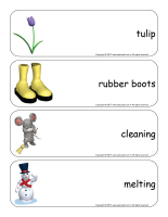 Giant word flashcards-Spring-3