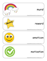 Giant word flashcards-Stickers-2