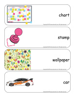 Giant word flashcards-Stickers-3