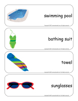 Giant word flashcards-Summer-2