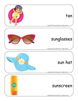 Giant word flashcards-Sunshine-2