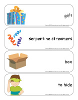 Giant word flashcards-Surprises-2