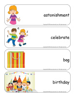 Giant word flashcards-Surprises-3