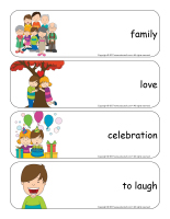 Giant word flashcards-Universal Children's Day-2
