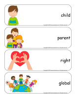 Giant word flashcards-Universal Children's-Day 2020-1