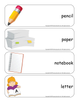 Giant word flashcards-Writing-1