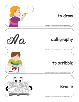 Giant word flashcards-Writing-3