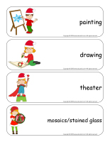 Giant word flashcards hristmas-Creative workshops-1