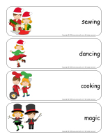 Giant word flashcards hristmas-Creative workshops-3